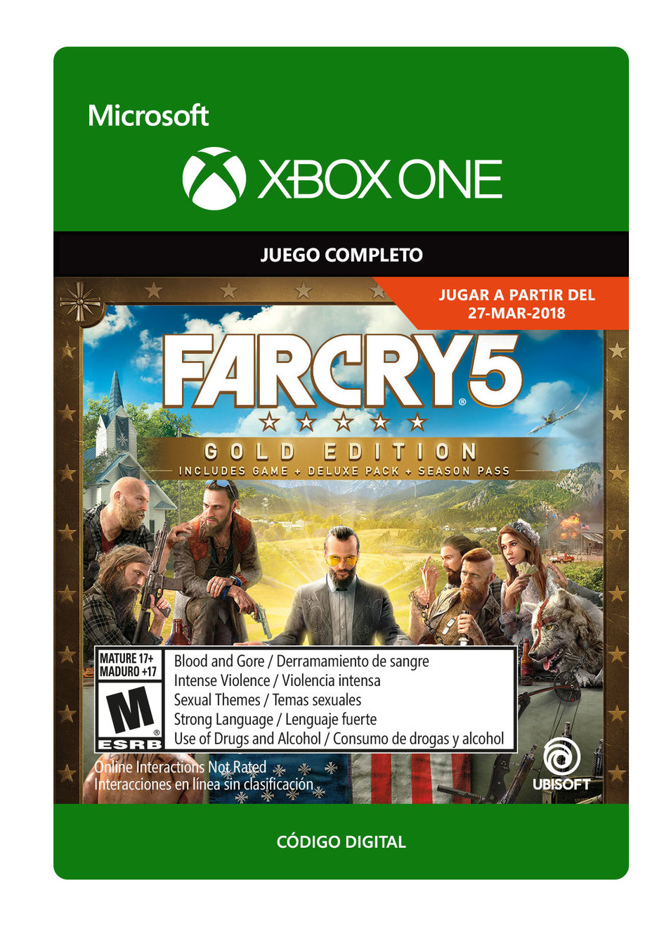 Far Cry 5 - Edición Oro
