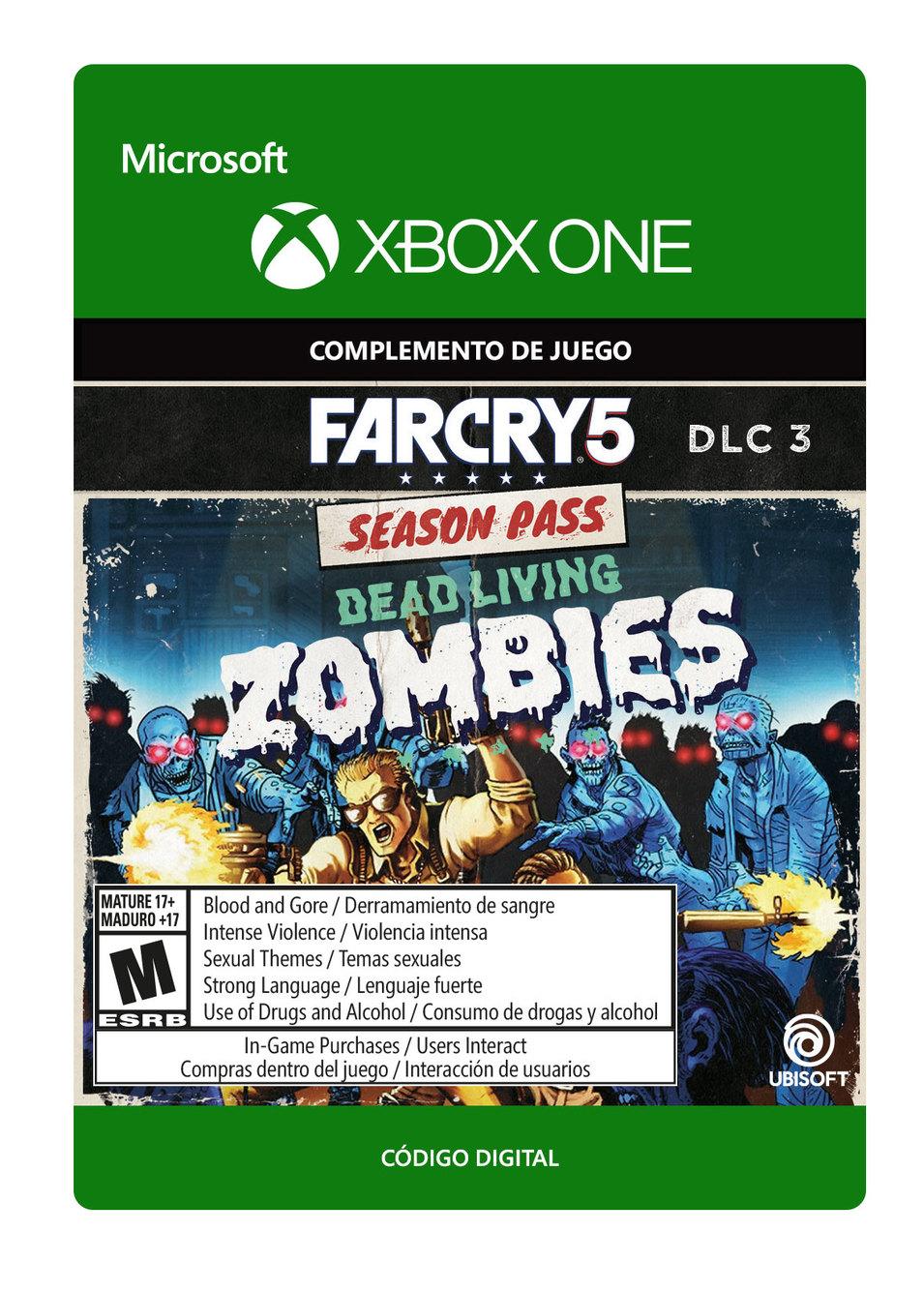 Far Cry 5: Muertos Vivientes Zombies DLC