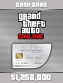 GTA Online: Tarjeta Gran Tiburón Blanco