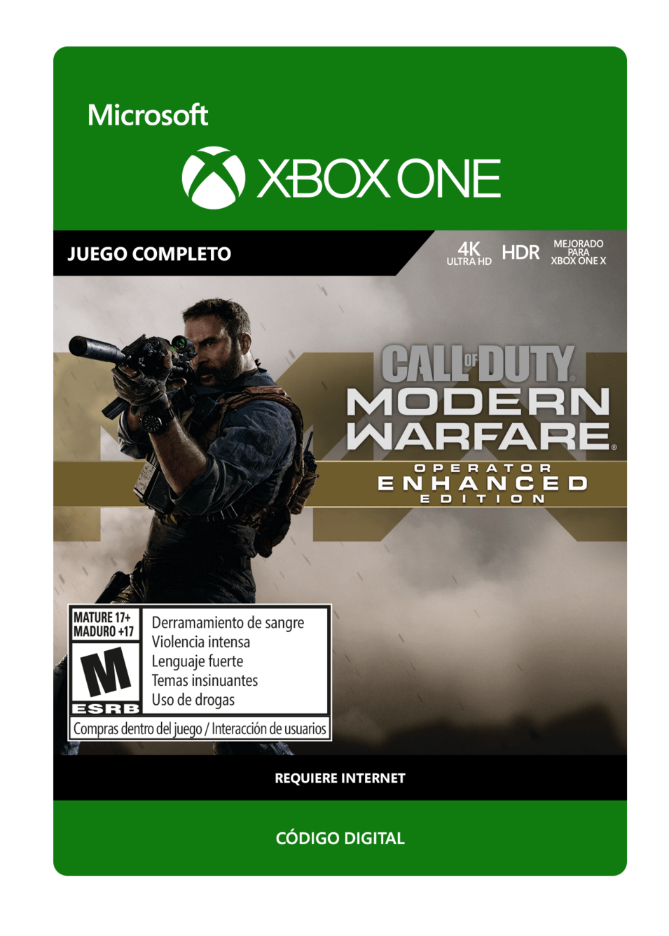 Call of Duty: Modern Warfare Operator Enhanced Edition