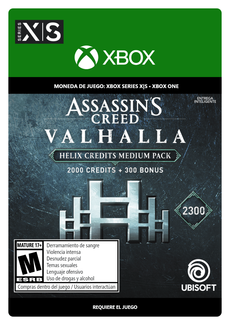 Assassins Creed Valhalla Medium Helix Credits Pack 2300