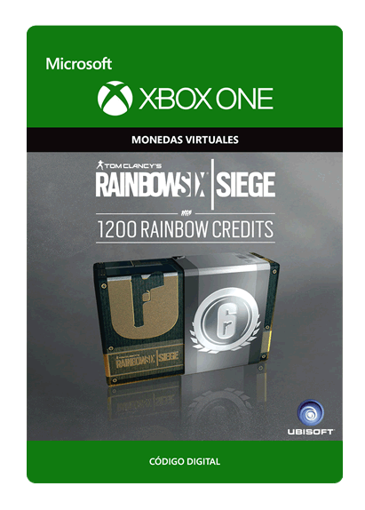 Tom Clancy s Rainbow Six Siege Currency Pack De 1200 Créditos