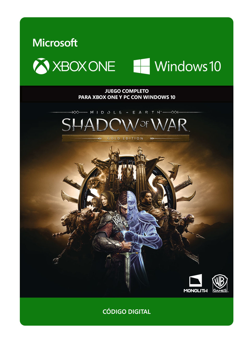 Middle-earth: Shadow Of War: Gold Edition