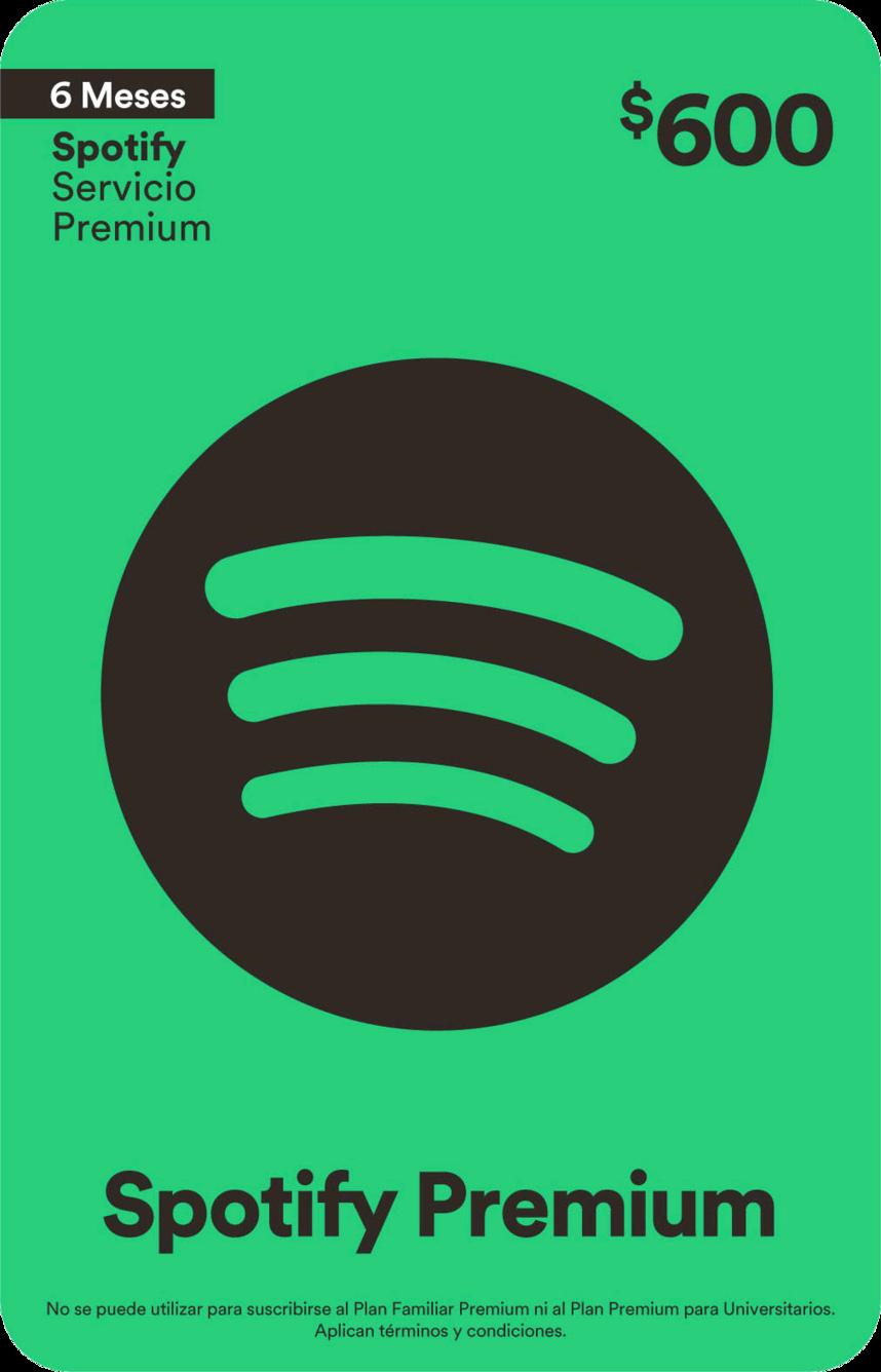 Spotify Premium 6 Meses