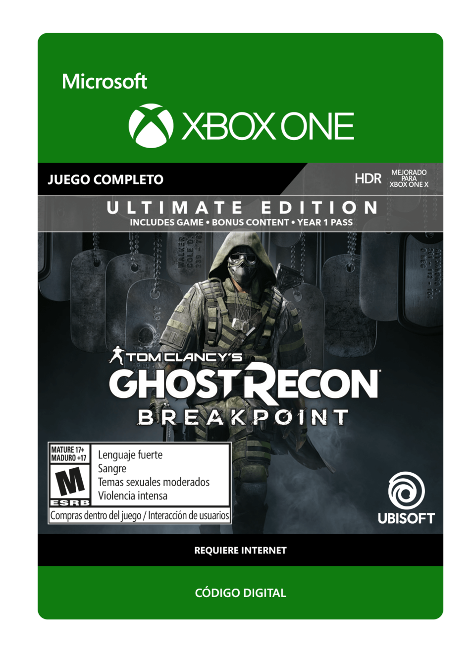 Tom Clancy s Ghost Recon Breakpoint Ultimate Edition