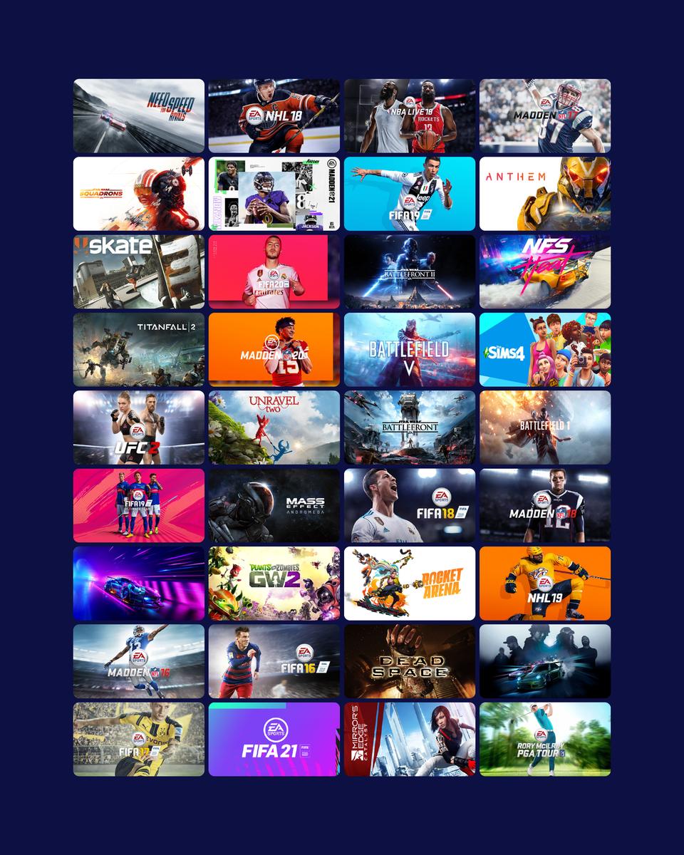 EA Play Basic 12 months(ROW) - Origin