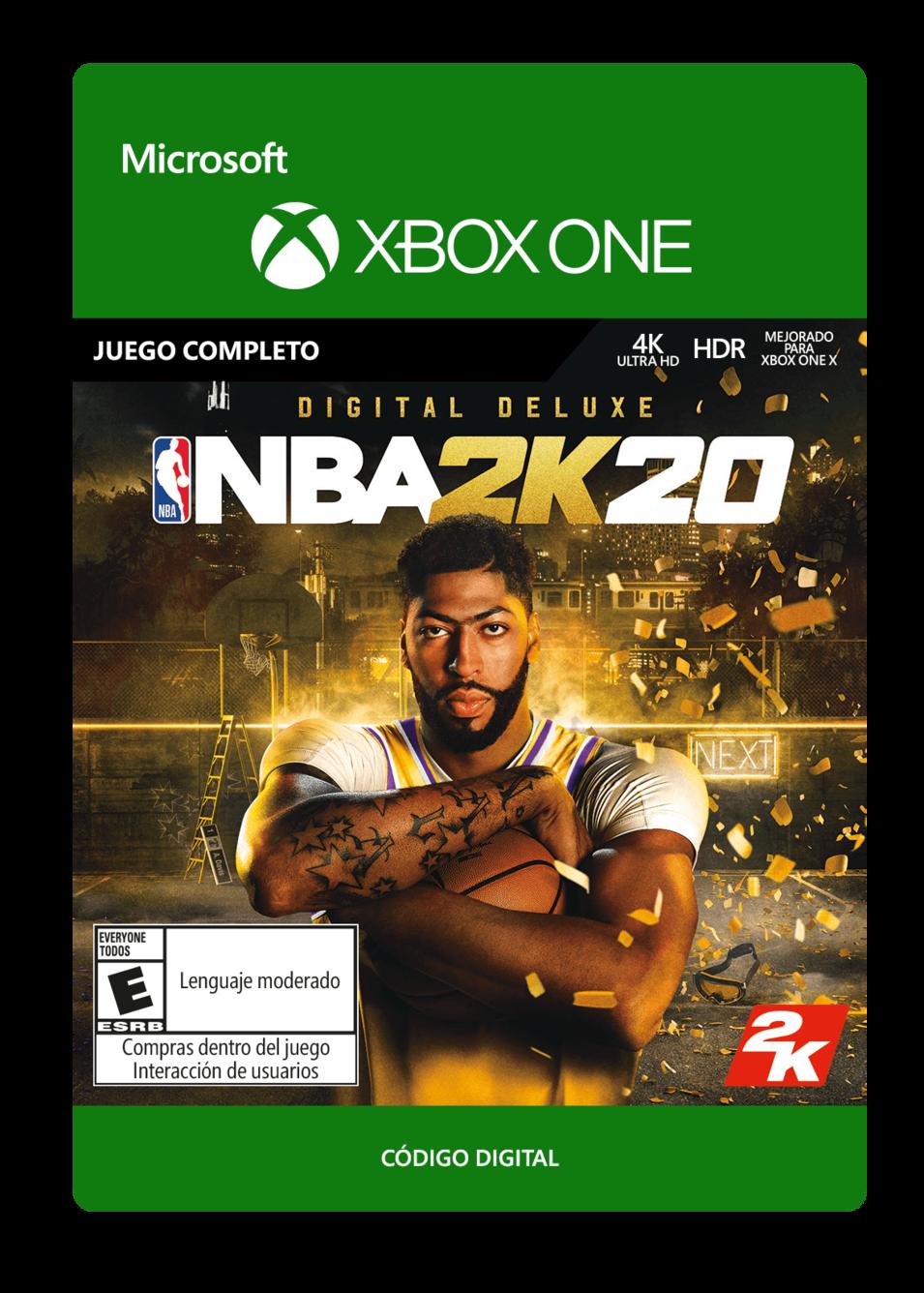 NBA 2K20: Digital Deluxe