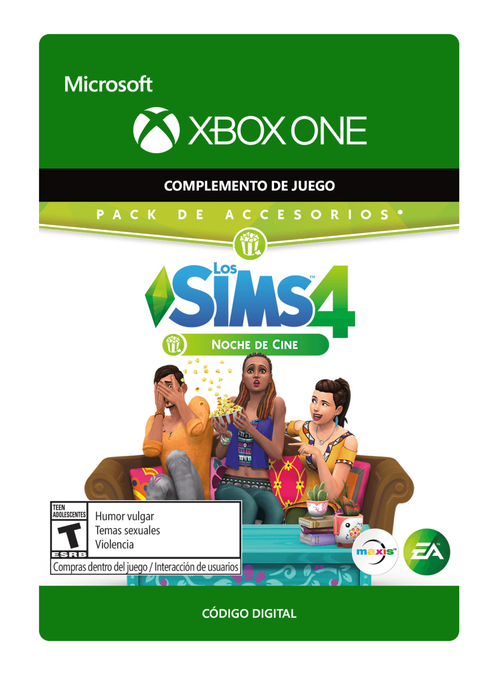 The Sims 4 Movie Hangout Stuff  Noche de Cine DLC