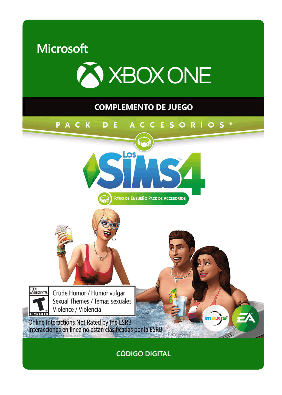 The Sims 4 Patio de Ensueño Pack de Accesorios