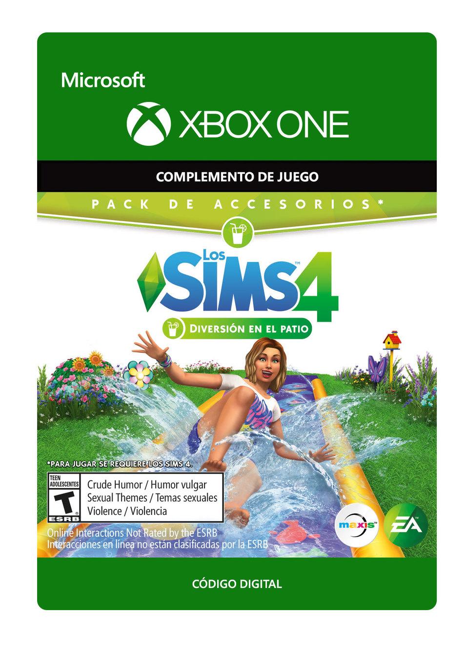 The Sims 4 Diversión en el patio Pack de Accesorios