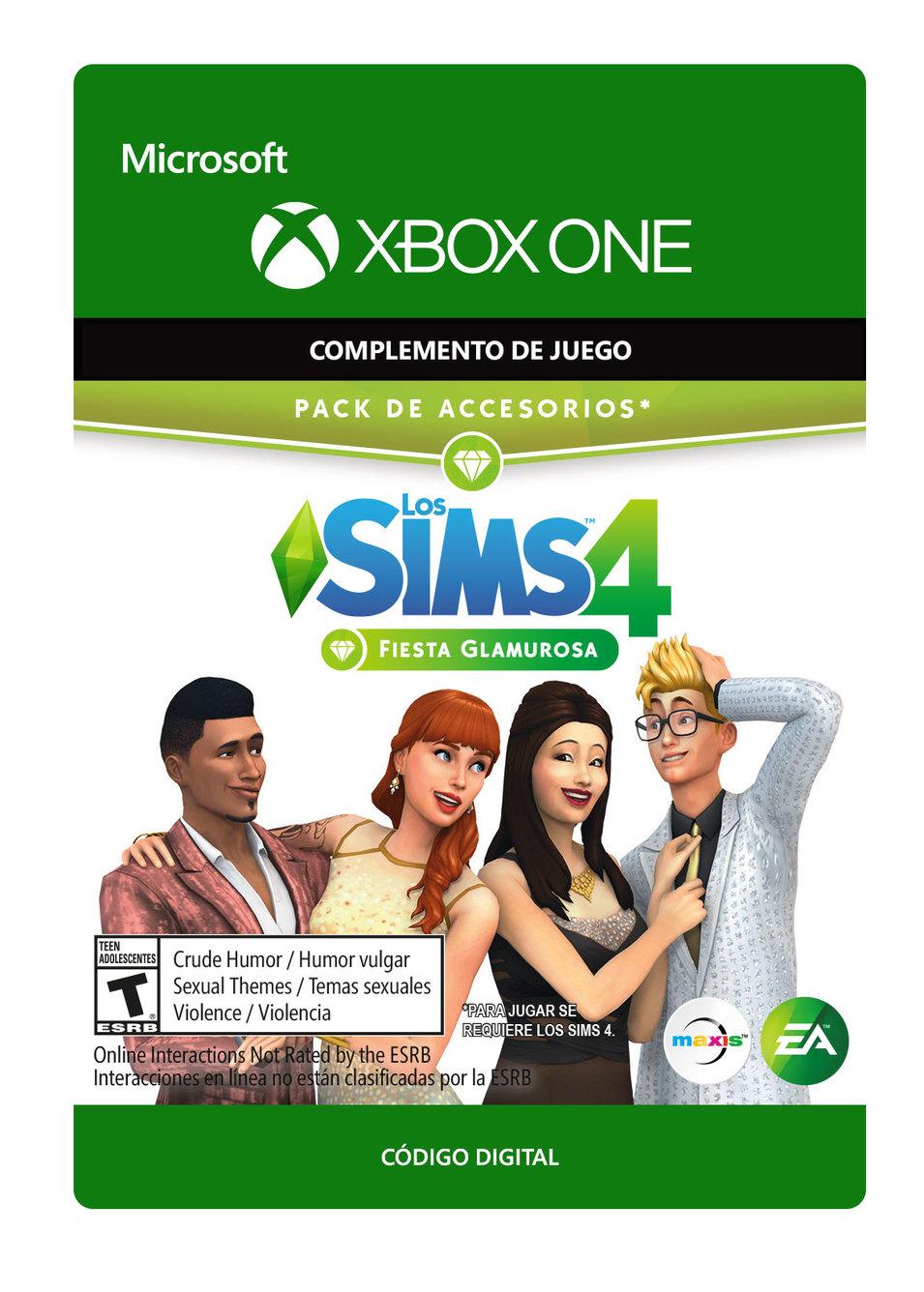 Los Sims 4 Fiesta Glamurosa Pack de Accesorios