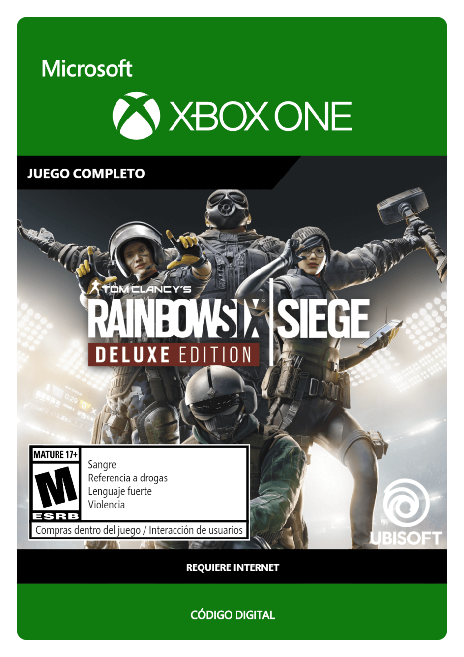 Tom Clancy s Rainbow Six Siege: Deluxe Edition
