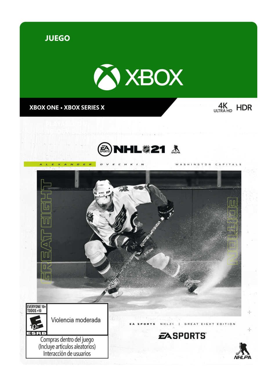 NHL 21: Great Eight Edition