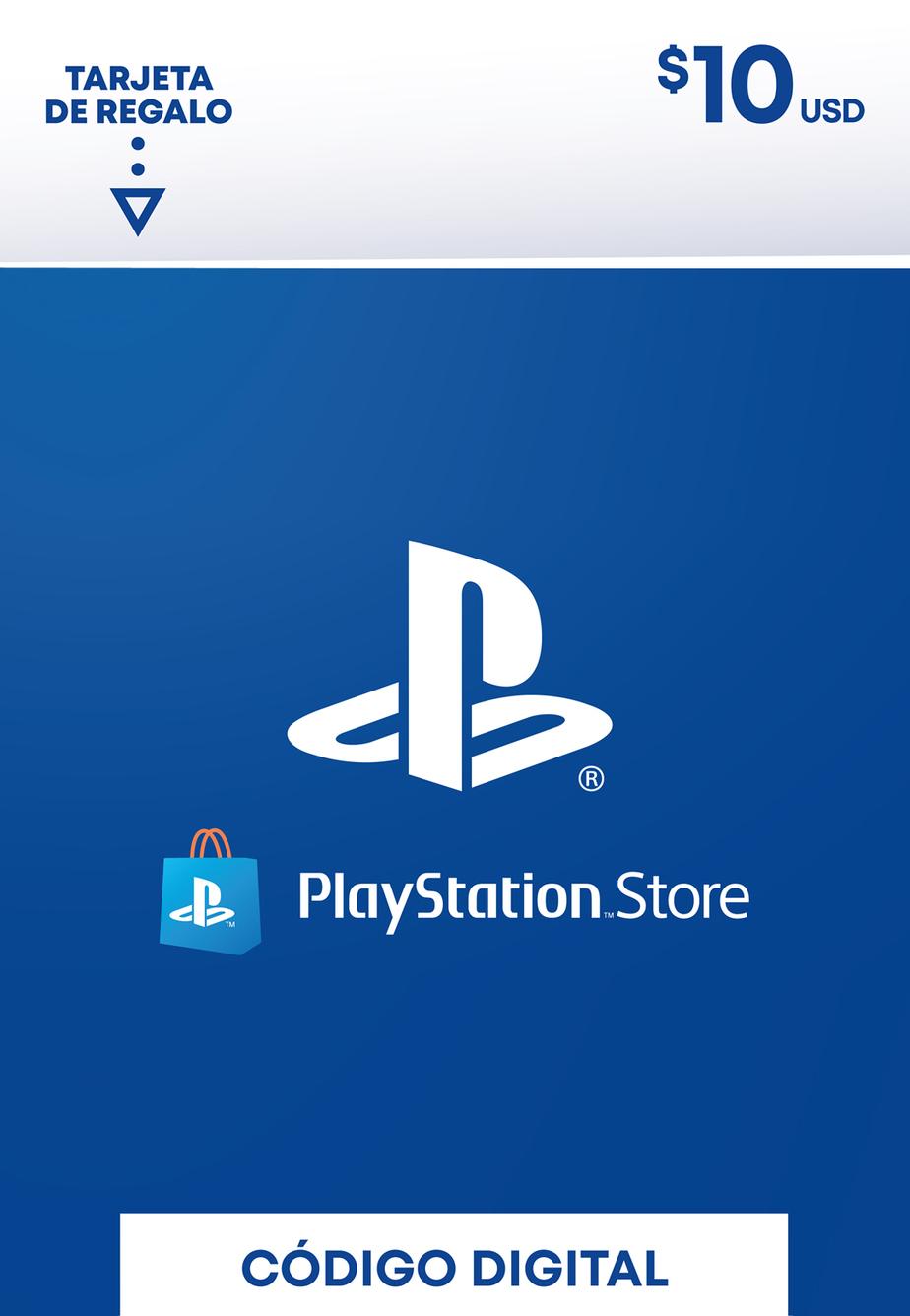 Tarjeta de Regalo PlayStation Store de 10 Dolares