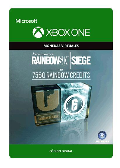 Tom Clancy s Rainbow Six Siege Currency Pack De 7560 Créditos