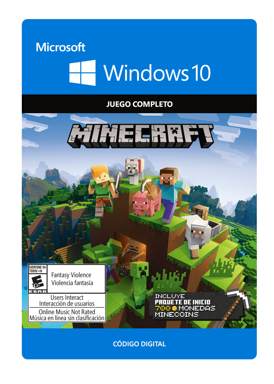 Minecraft Starter Collection para Windows 10