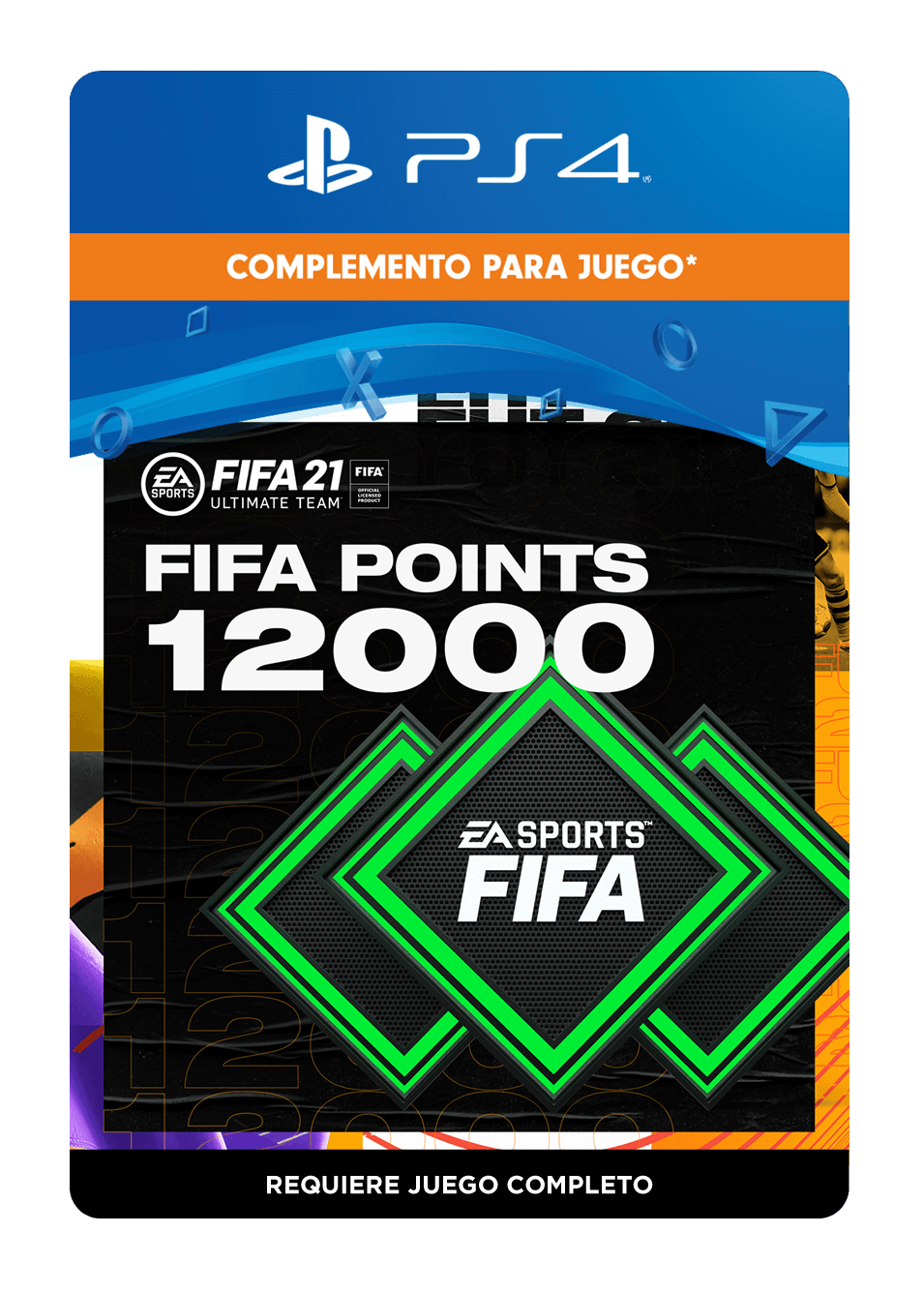 FIFA 21 Ultimate Team Points 12000 Puntos