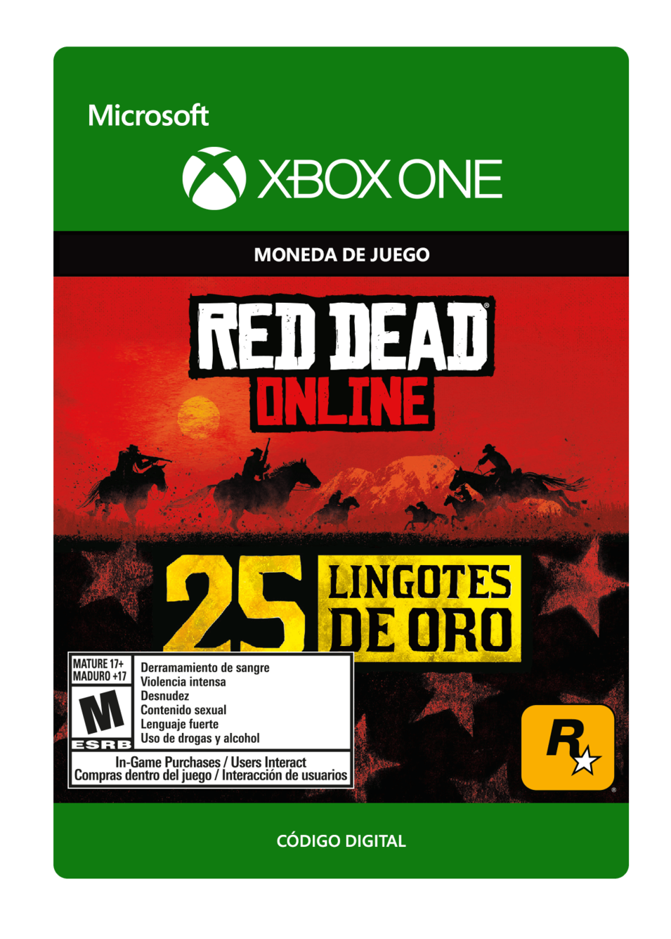 Red Dead Redemption 2: 25 Gold Bars Lingotes de Oro