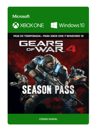 Gears Of War 4 Pase De Temporada