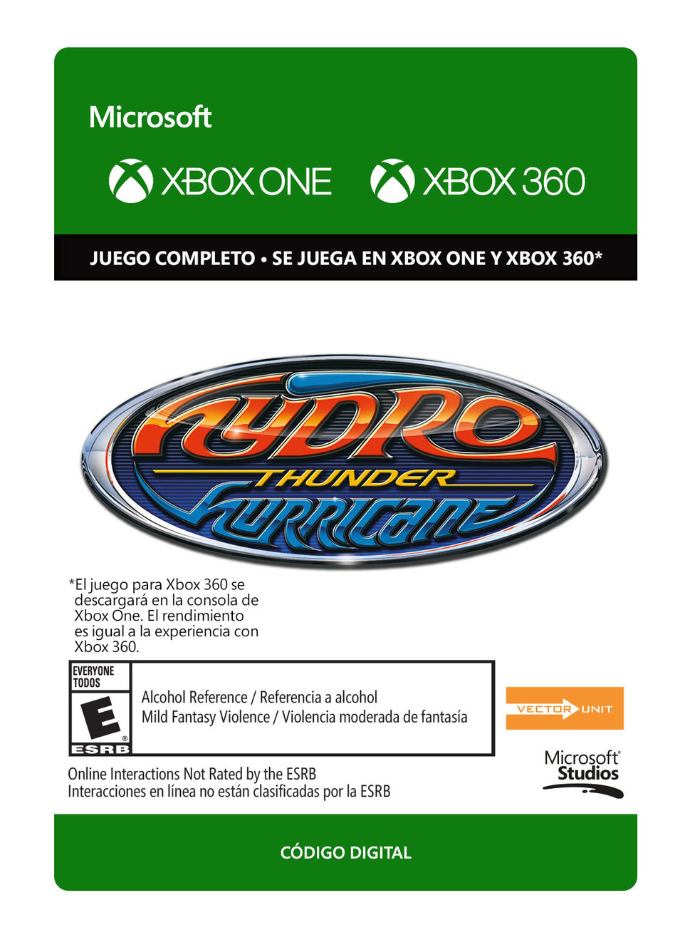 Hydro Thunder Hurricane - Xbox 360, Xbox One - Descarga - Esd