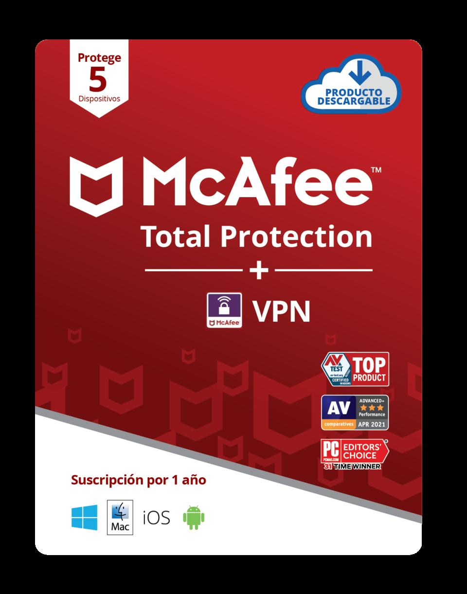 McAfee Safe Connect Premium 05-Device
