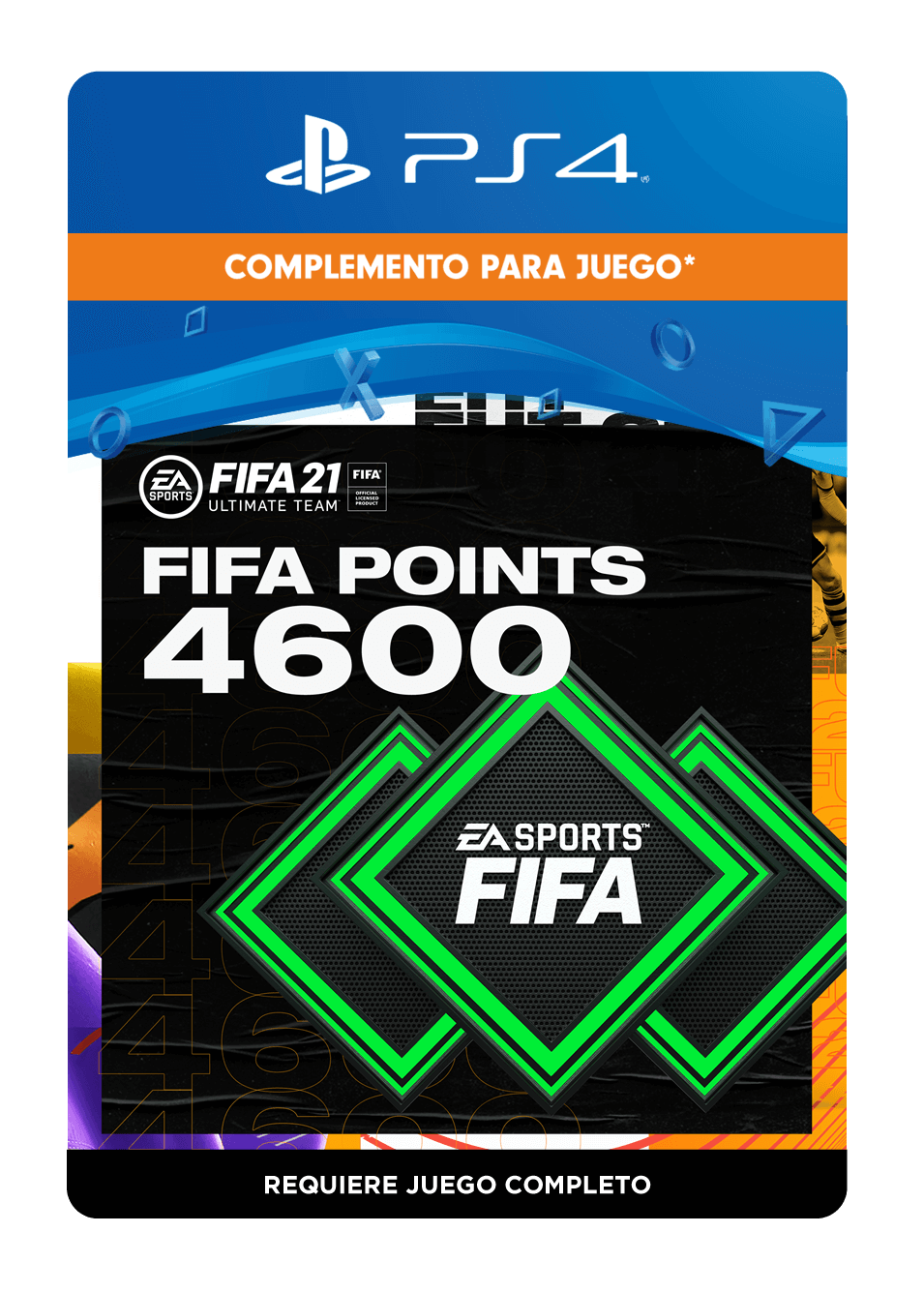 FIFA 21 Ultimate Team Points 4600 Puntos