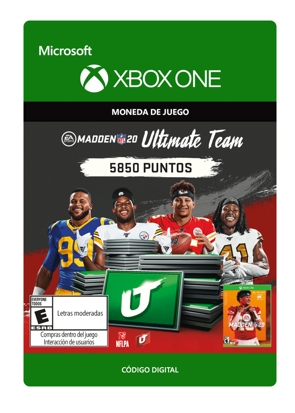 Madden NFL 20 mut 5850 Madden Points Pack