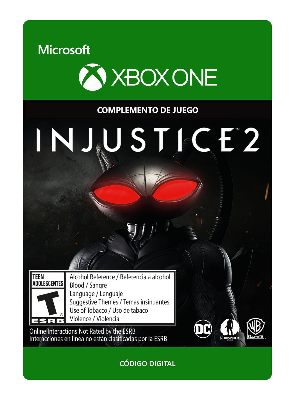 Injustice 2: Black Manta
