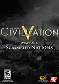 Sid Meier s Civilization® V Map Pack: Scrambled Nations (DLC)