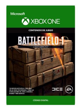 Battlefield(tm) 1: 3 Battlepacks