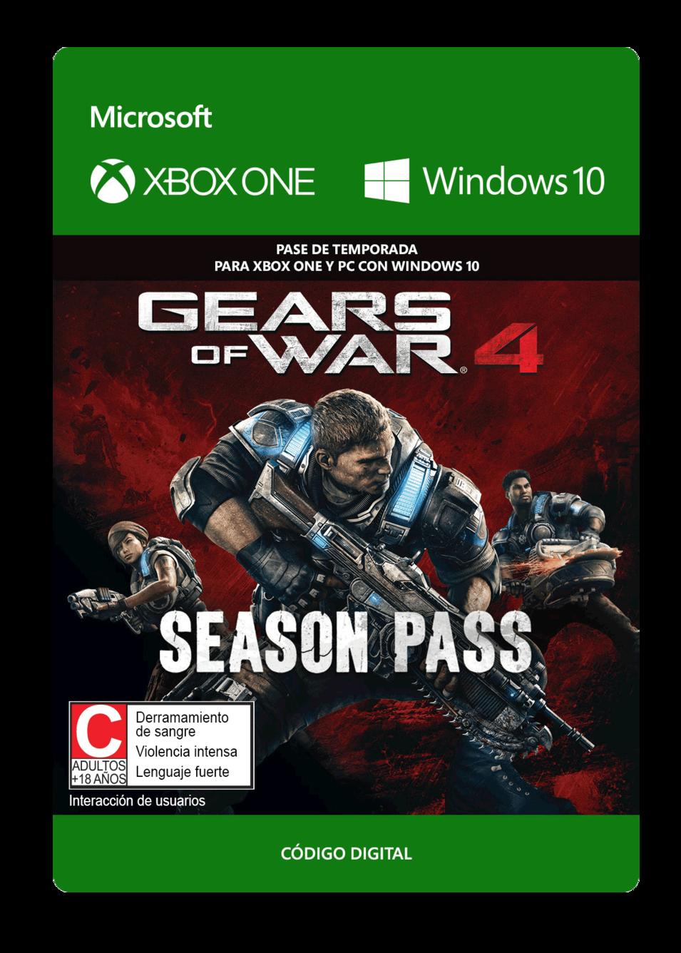 Gears Of War 4 Pase De Temporada