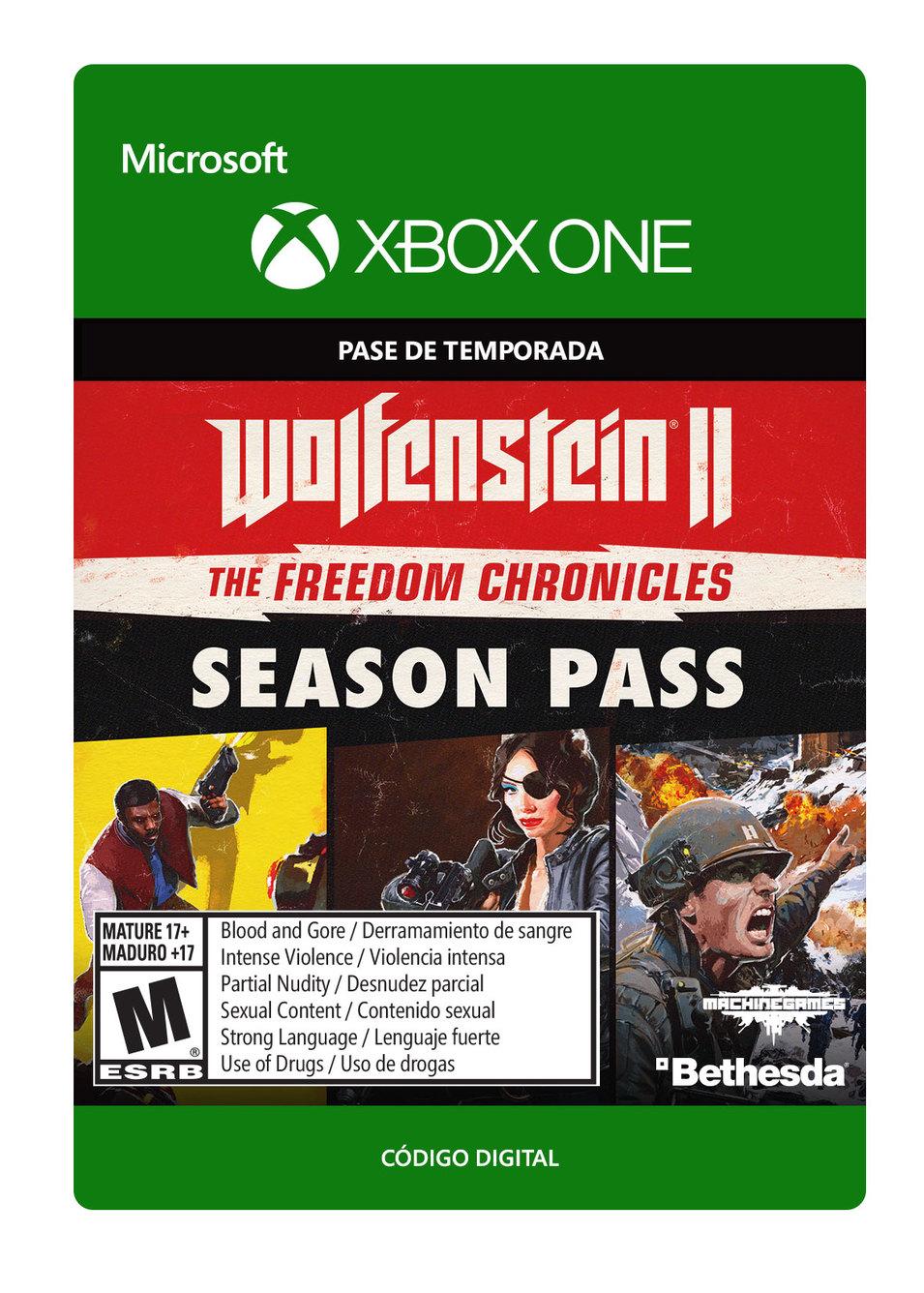 Wolfenstein II: Cronicas de libertad Season Pass