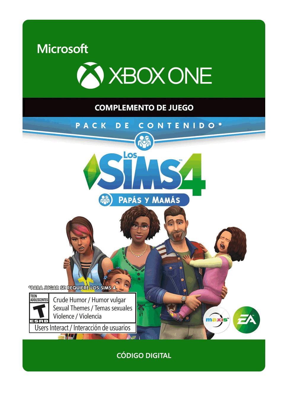 The Sims 4 Papás y Mamás Paquete de Contenido