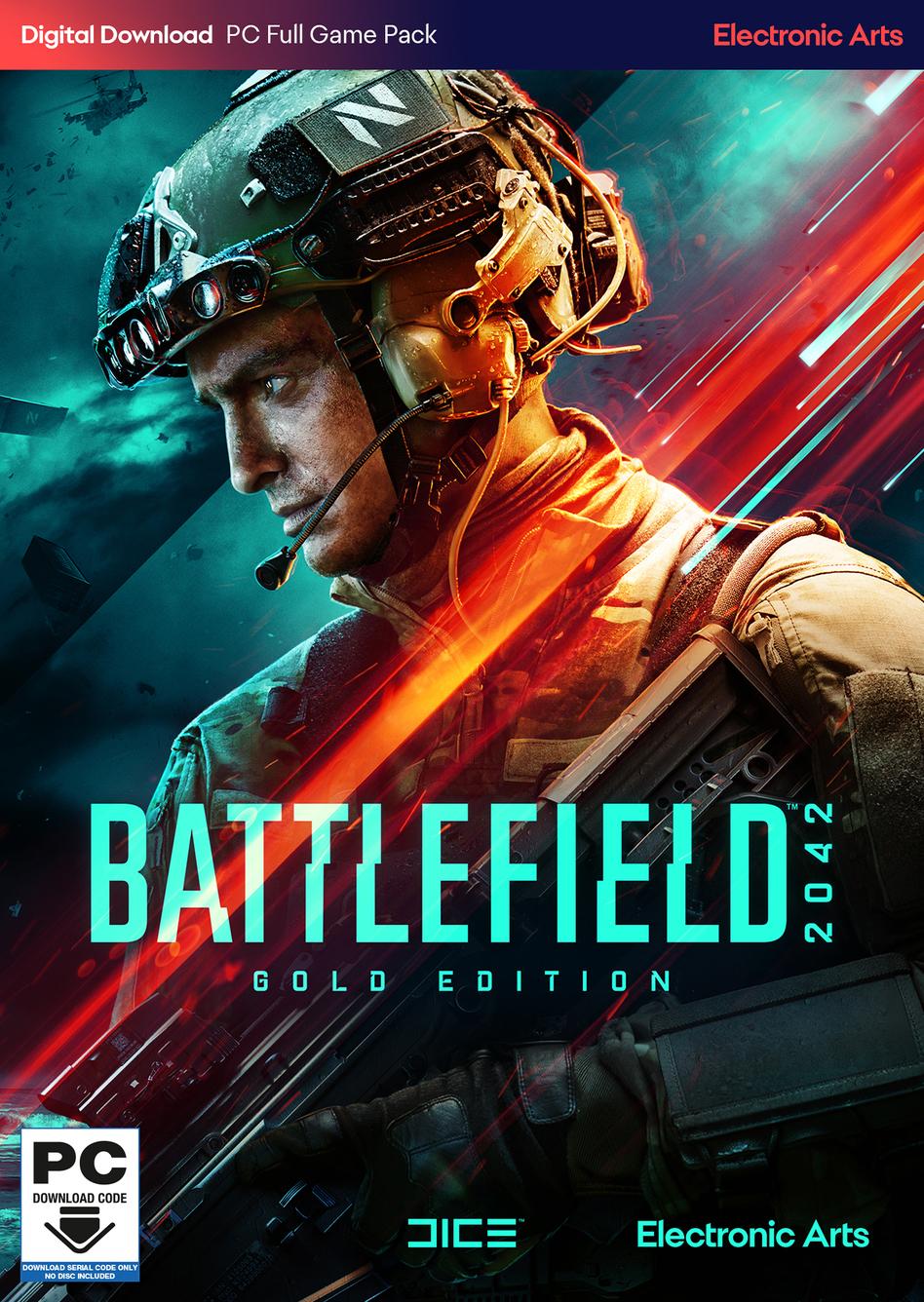 Battlefield 2042 Gold Edition Preorder(ANZ+ASIA+Africa+NCSA) - Origin