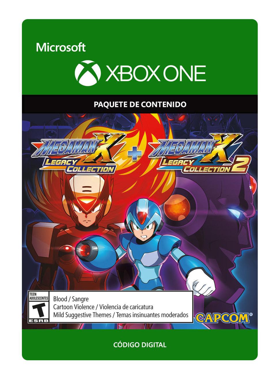 Mega Man X Legacy Collection 1 y 2 Bundle