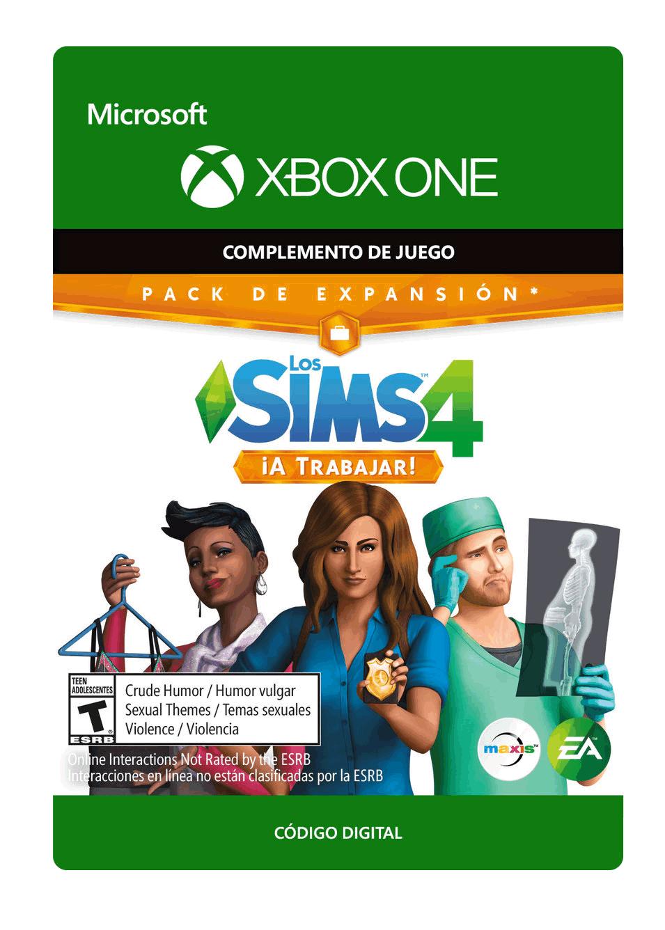The Sims 4 A trabajar Paquete de contenido
