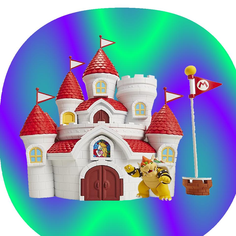 Nintendo Castillo Mushroom Kingdom Castle Playset