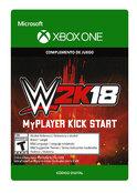 WWE 2K18: MyPlayer Kick Start