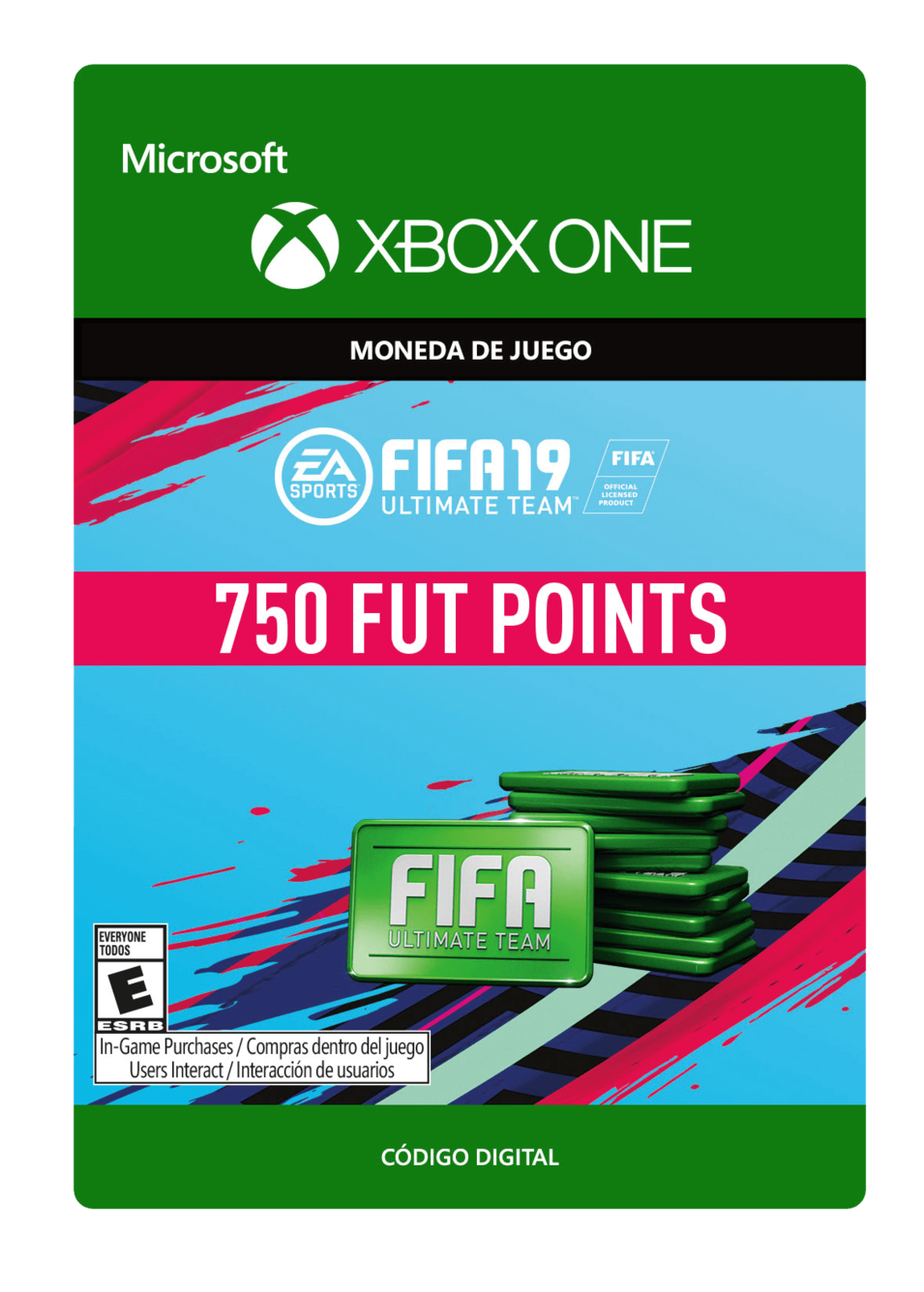 FIFA 19 Ultimate Team Points Pack De 750