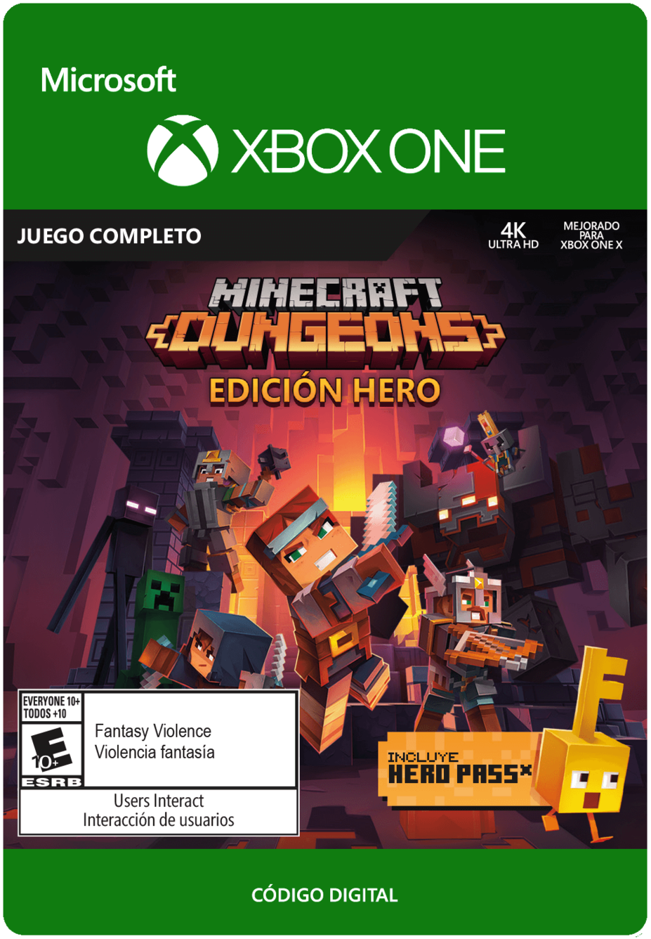 Minecraft Dungeons - Hero Edition - Xbox One