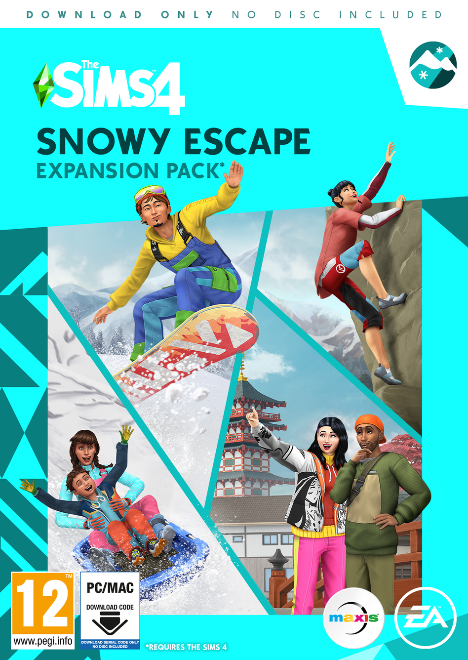 The Sims 4 Snowy Escape Expansion Pack - Origin