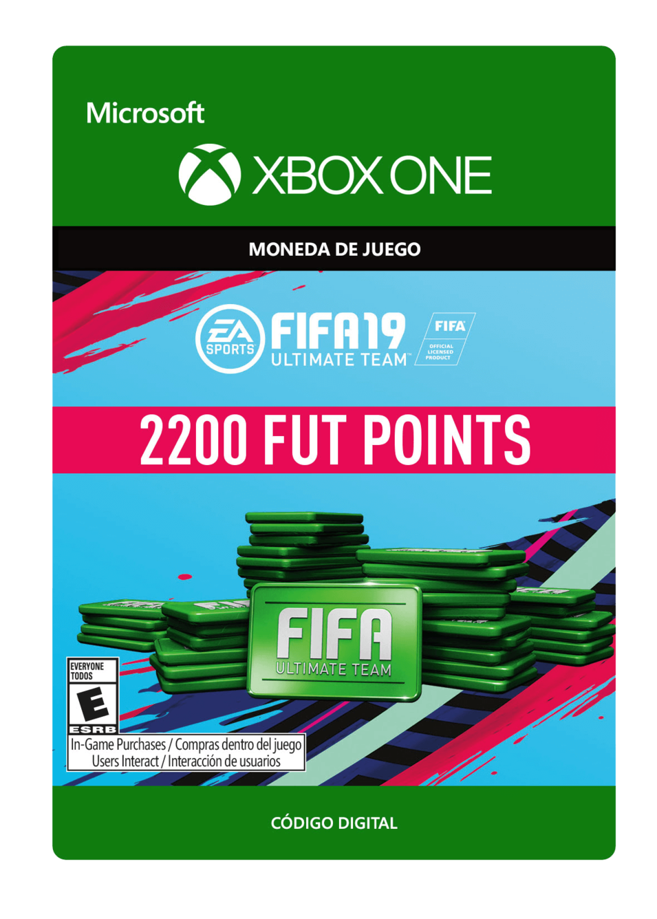 FIFA 19 Ultimate Team Points Pack De 2200