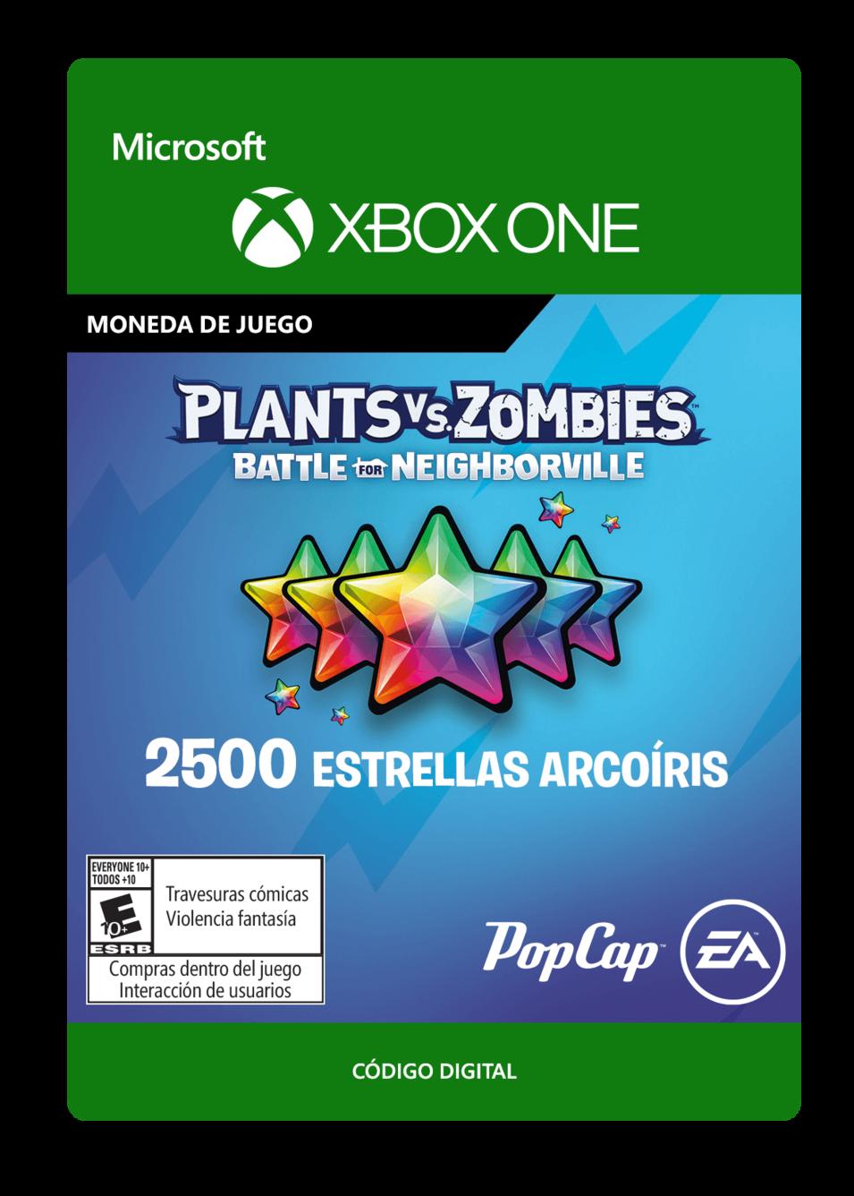 Plants vs. Zombies: Battle for Neighborville: 2500 Rainbow Stars Estrellas Arcoíris