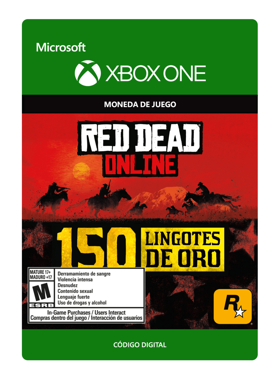Red Dead Redemption 2: 150 Gold Bars Lingotes de Oro
