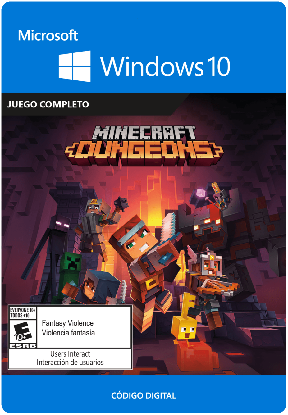 Minecraft Dungeons - Windows 10