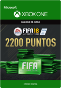 Fifa 18 Points Pack De 2200