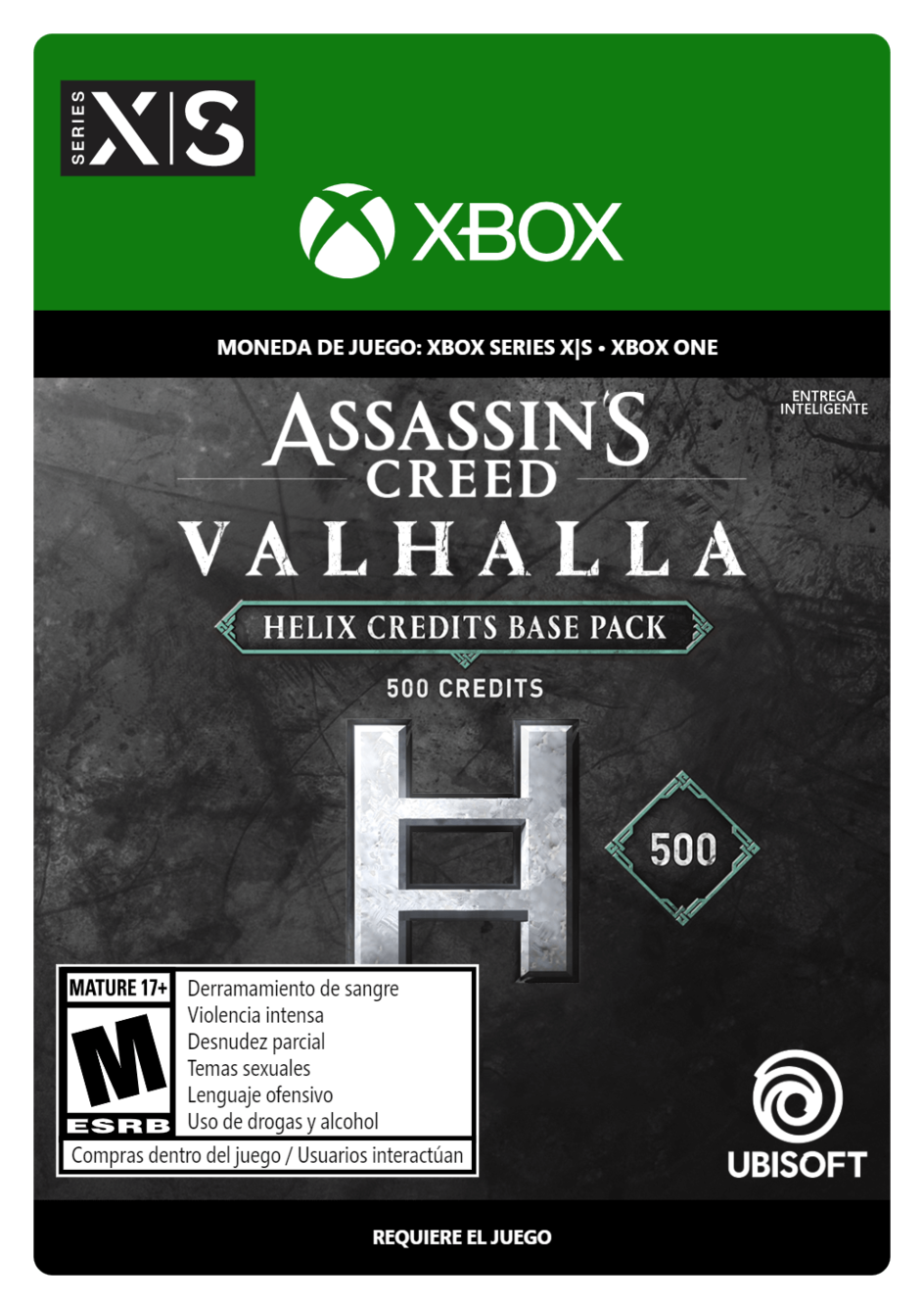 Assassins Creed Valhalla Base Helix Credits Pack 500