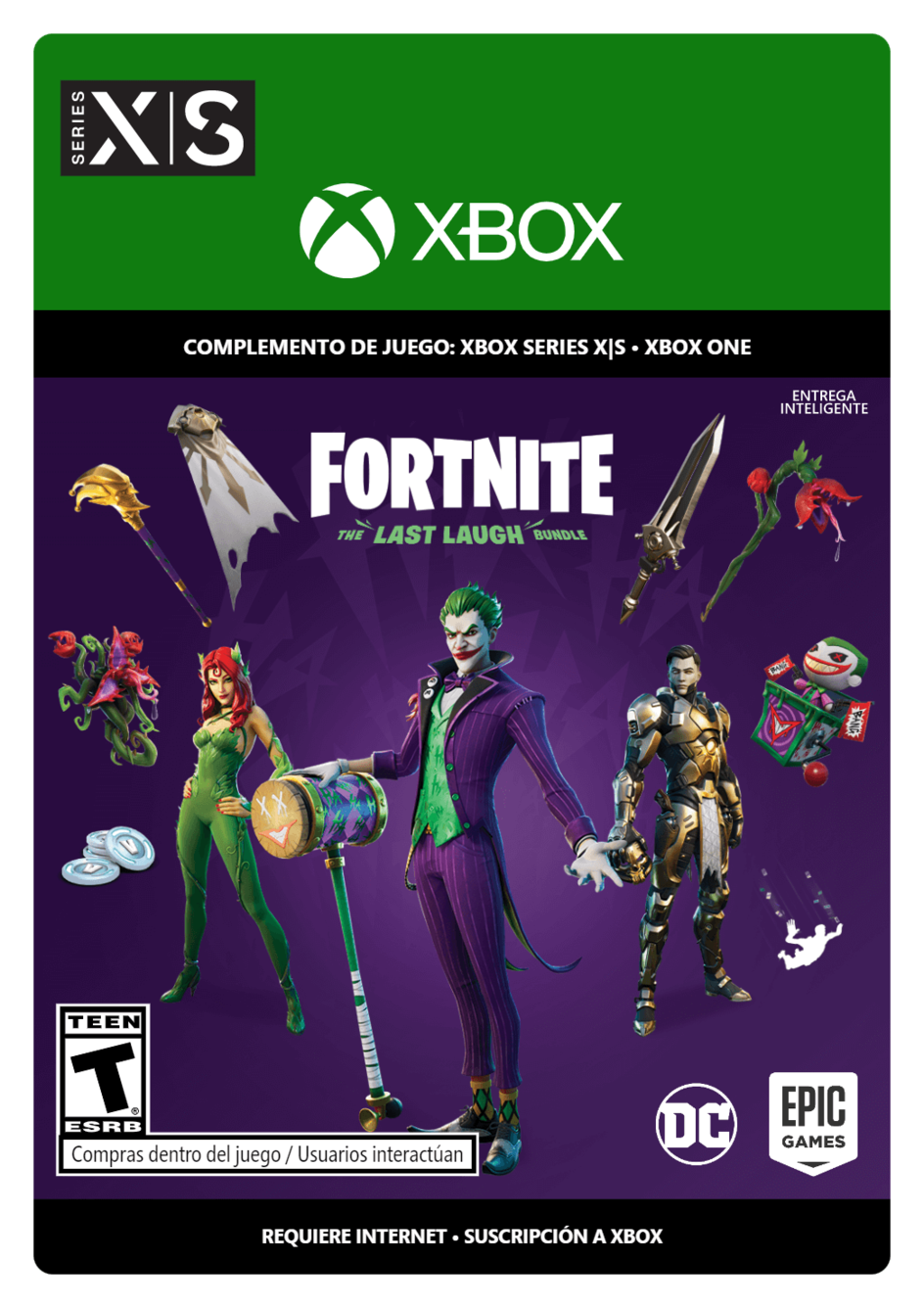 Fortnite: The Last Laugh Bundle La Última Risa DLC