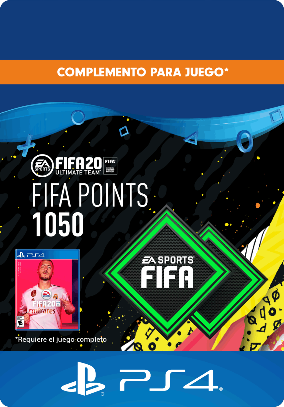FIFA 20 Ultimate Team Points - 1050 Puntos