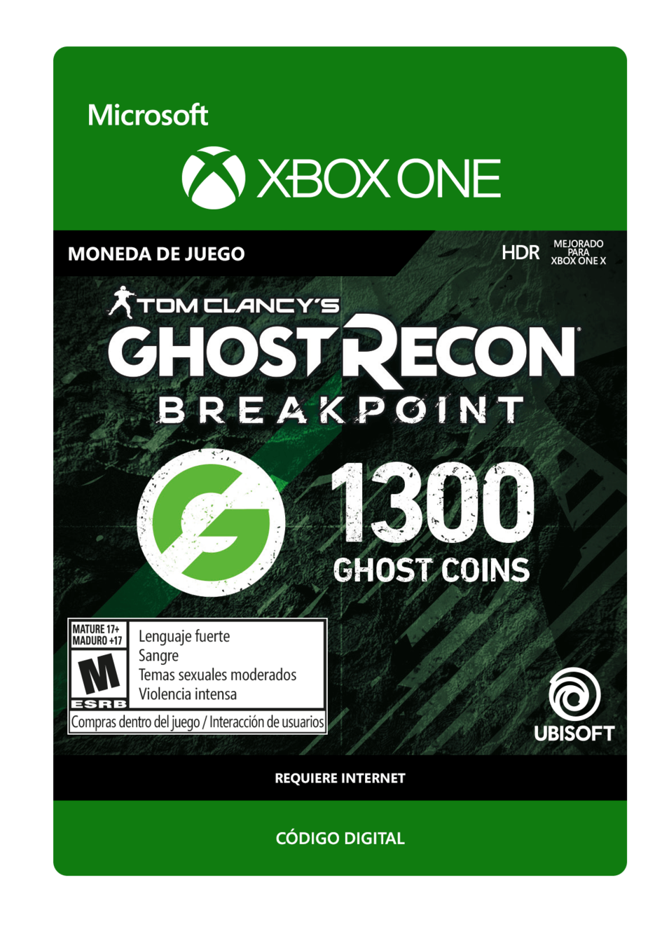 Tom Clancy s Ghost Recon Breakpoint 1300 Ghost coins